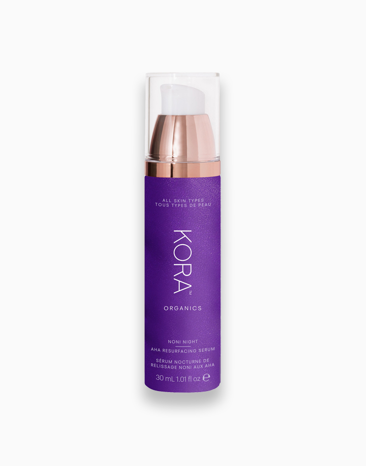Noni Night AHA Resurfacing Serum by Kora Organics