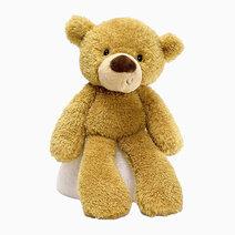 "Fuzzy Beige Bear 13.5"" Soft Plush Toy by Gund"