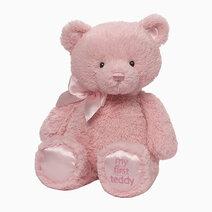 """My First Teddy Pink 15"""" by Gund"""
