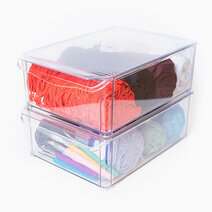 Box with Lid (Tall) - Set of 2 by Neat Nest