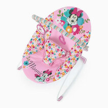 Minnie Perfect in Pink Vibrating Bouncer by Bright Starts