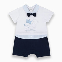 Romper with Teddy Bear and Bow Ties by Chicco