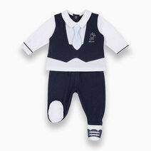 Baby's Smock and Leggings Stretch Jersey by Chicco