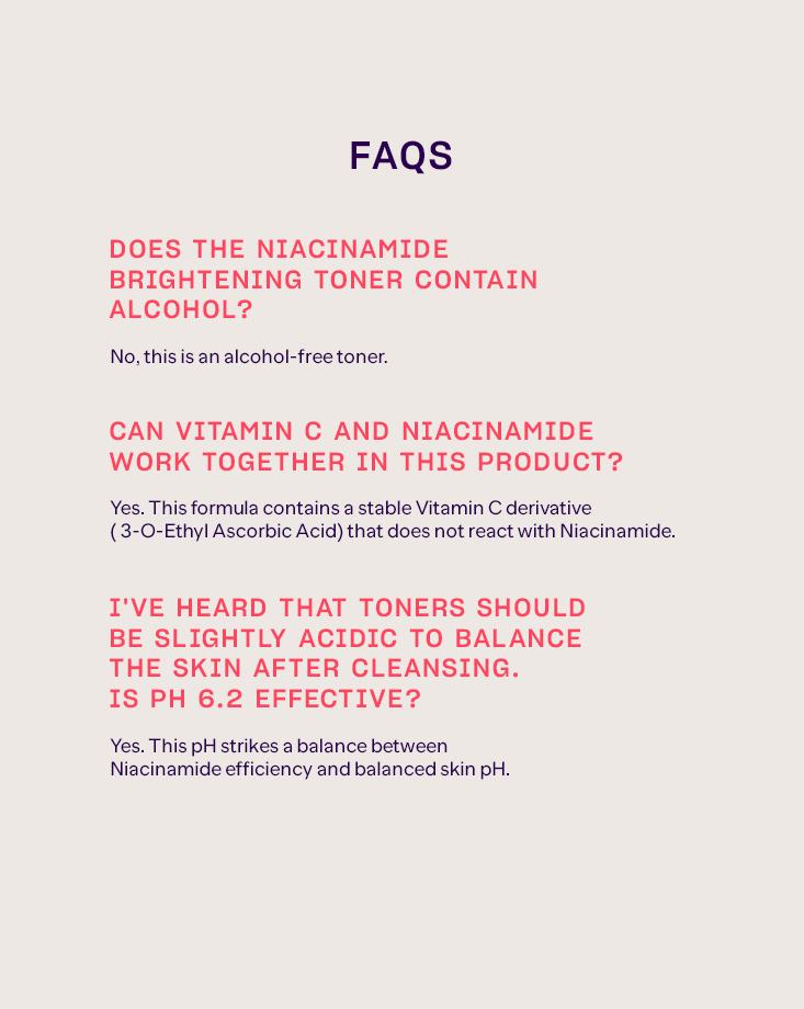 Niacinamide toner 3