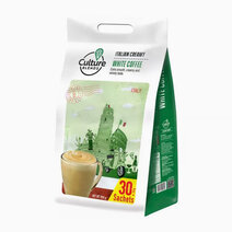 Italian Creamy White Coffee (30g x 30) by Culture Blends