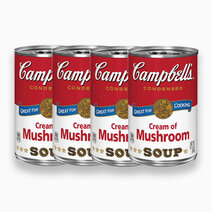 Cream of Mushroom (10.5oz) - Pack of 4 by Campbell