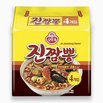 Re seafood jjampong ramyun noodles %28120g x 4%29