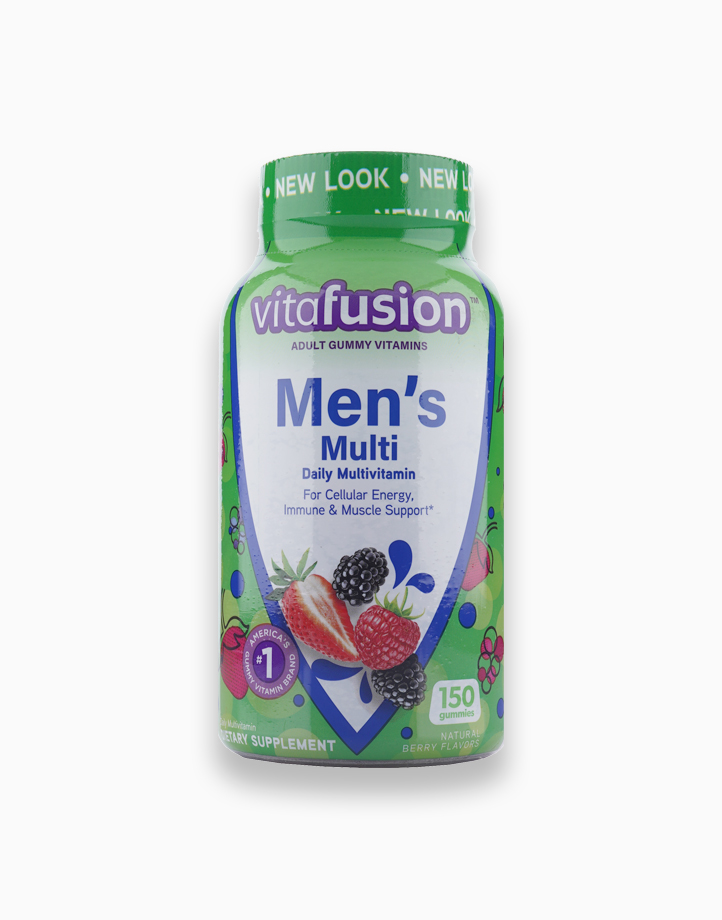 Men's Complete Multivitamin - Natural Berry Flavors (150 Gummies) by Vitafusion