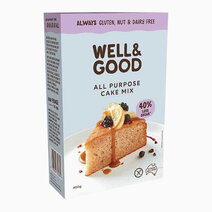 Purpose Cake Mix (475g) by Well & Good