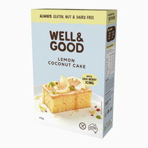 Lemon Coconut Cake Mix (475g) by Well & Good