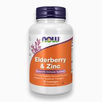 Elderberry & Zinc Lozenges by NOW