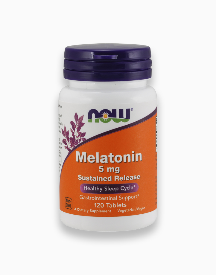 Melatonin 5mg Sustained Release Tablets by NOW