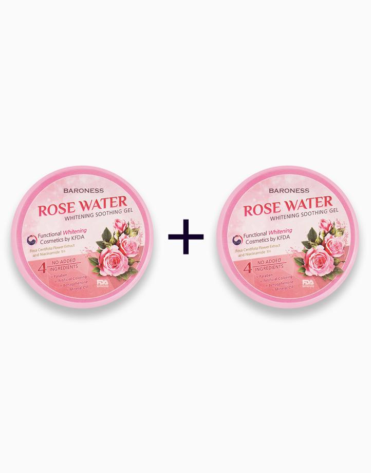 Rose Water Whitening Soothing Gel (Buy 1, Take 1) by Baroness