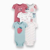 5-Pack Strawberry Original Bodysuits by Carter's