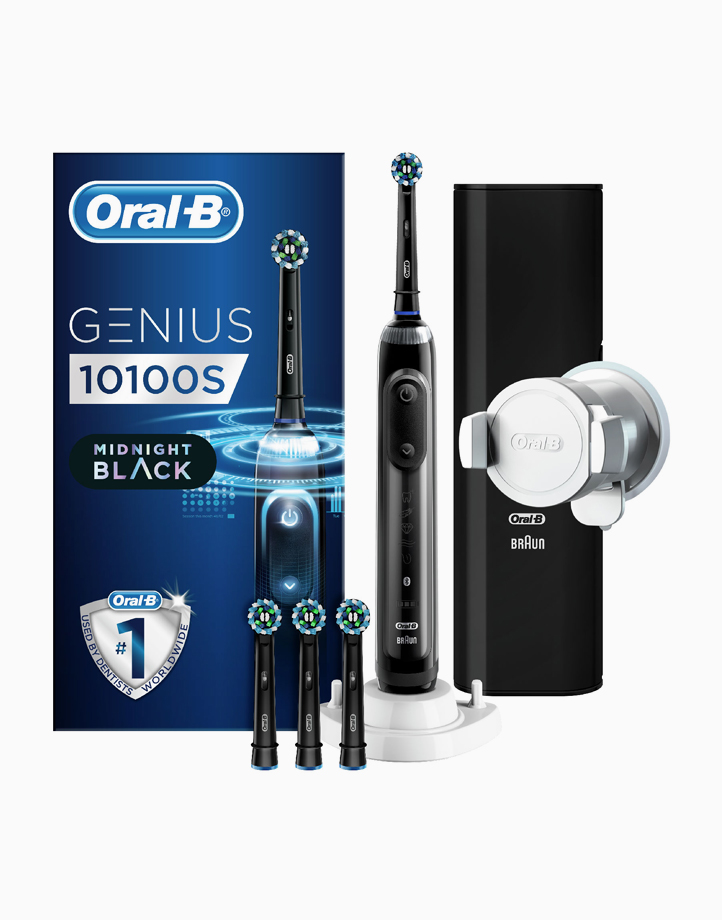 Oral-B Genius 10100S Black SensiUltrathin Rechargeable Toothbrush  by Oral-B