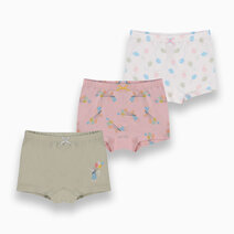Toccata 3-Pack Boyshorts for Girls by Meet My Feet