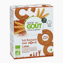 All Round Biscuits with Cacao (80g) by Good Goût