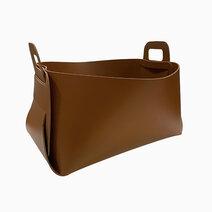 Cozsho leather catch all medium caramel