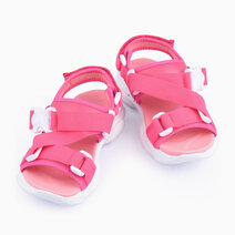 Niamey Sandals for Girls - Fuchsia by Meet My Feet