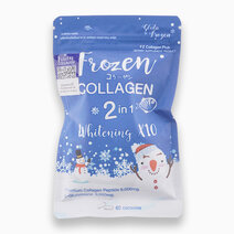 Frozen Collagen Gluta 2-in-1 Whitening x 10 Glutathione Snow White Skin (60s) by Gluta Frozen