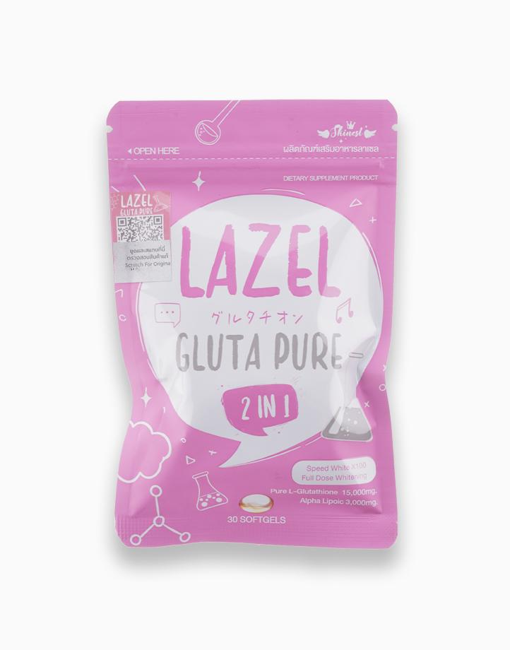 Lazel Gluta Pure 2-in-1 Dietary Supplement Brightening Skin Antioxidant for Acne-prone Skin by Gluta Frozen