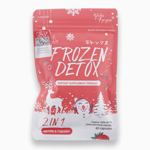 Frozen Detox 2-in-1 Detox & Fiber Slimming, Organic Herbs (60s) by Gluta Frozen