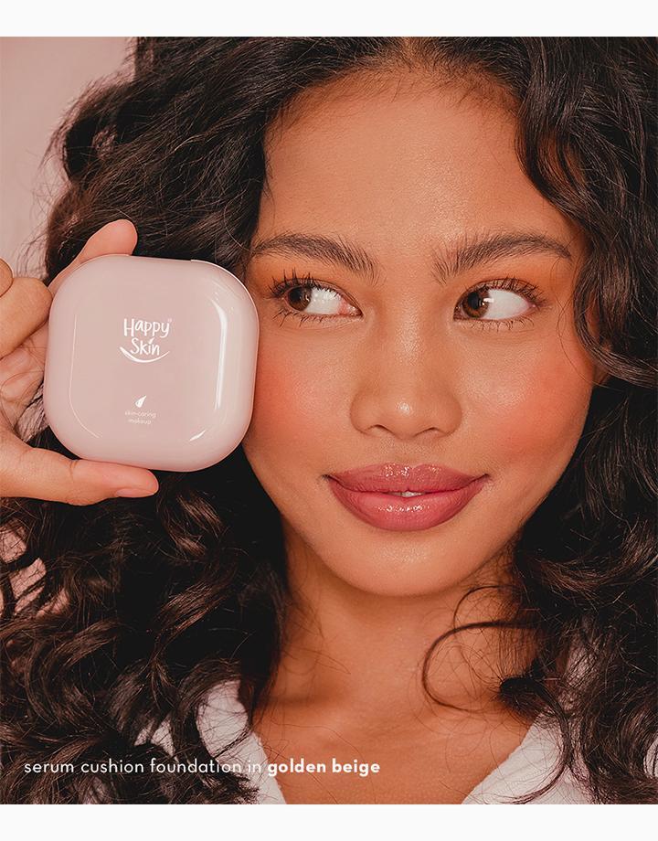 Second Skin Serum Cushion Foundation by Happy Skin | Golden Beige