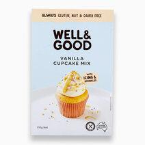 Vanilla Cupcake Mix (475g) by Well & Good