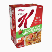 Re special k red berries crunchy wheat   rice flakes with real strawberries %282lbs%29   2 bags