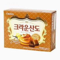 Crown Sando Chocolate Vanilla Flavor (161g) by Crown