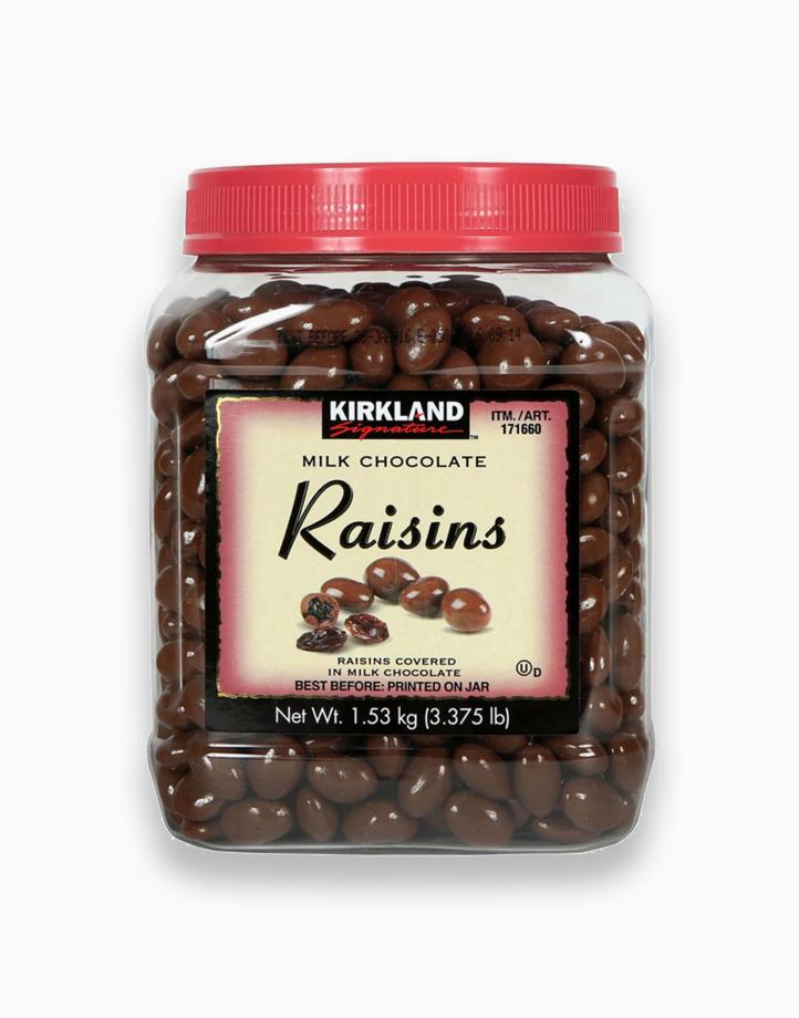 Milk Chocolate Raisins (1.53kg) by Kirkland