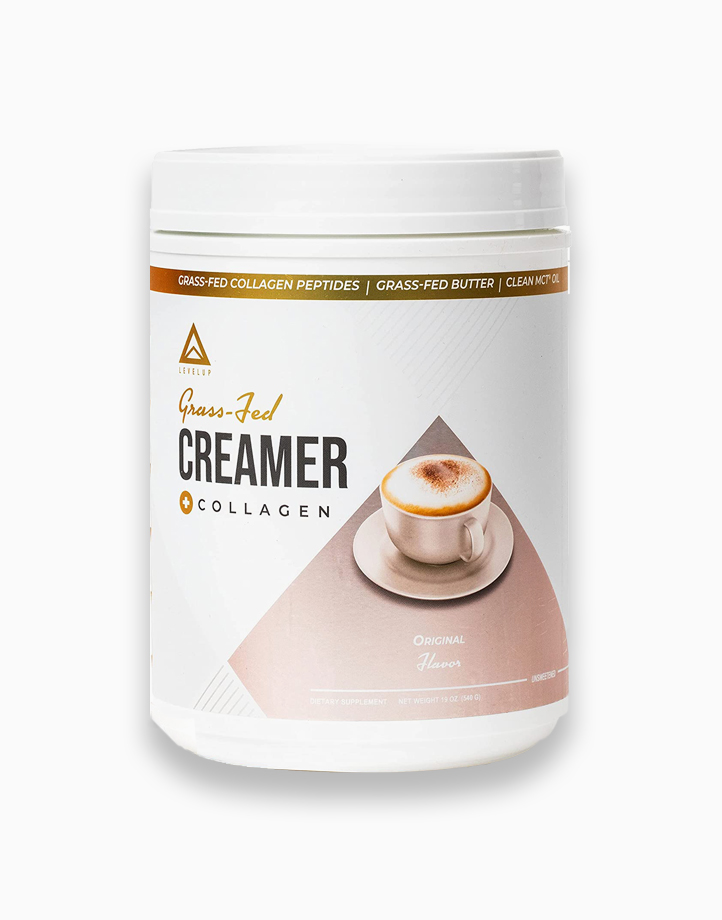 Grass Fed Keto Creamer with Collagen Original (40 Servings) by LevelUp Nutra