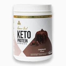 Grass Fed Keto Protein w/ Collagen Chocolate (24 Servings) by LevelUp Nutra