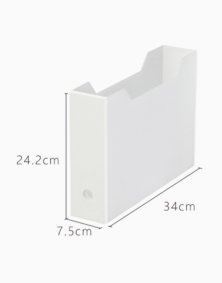 Shimoyama Folder Box (Slim - White) by Simply Modular