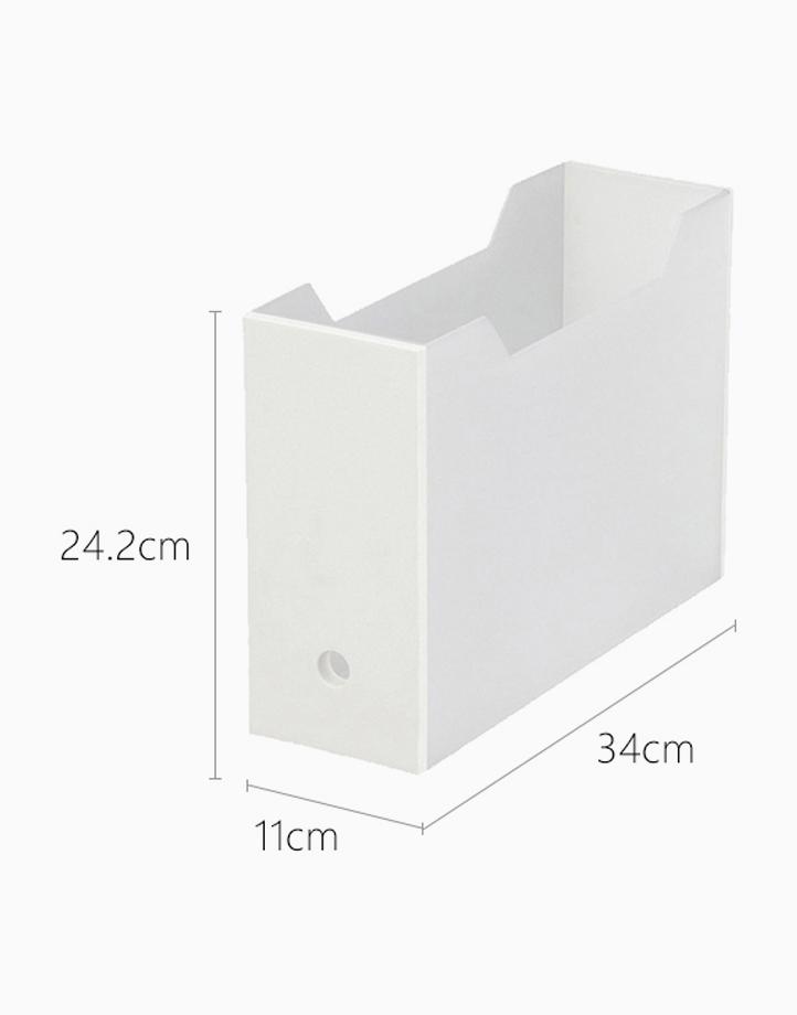 Shimoyama Folder Box (Wide - White) by Simply Modular