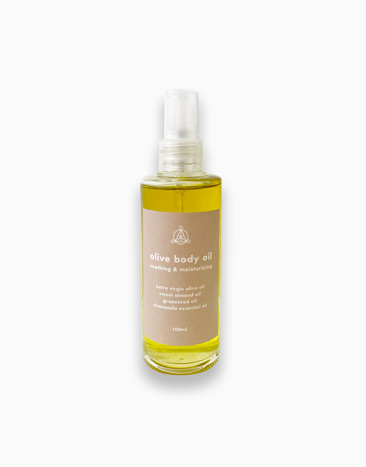 Olive Soothing & Moisturizing Body Oil by The Flow Shop