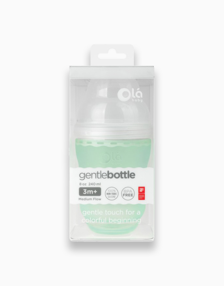 GentleBottle (8oz) by Olababy | Mint
