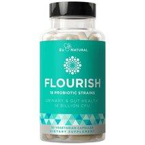 FLOURISH Probiotics - Urinary & Gut Health by Eu Natural