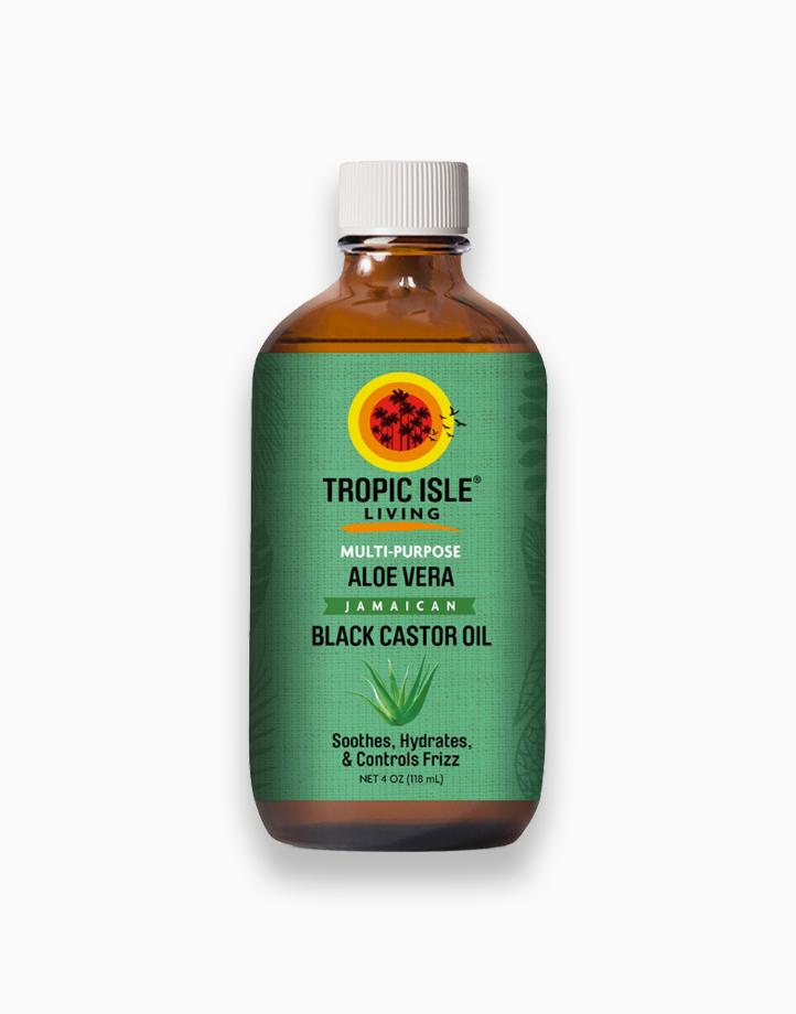 Aloe Vera Jamaican Black Castor Oil (4oz / 118ml) by Tropic Isle
