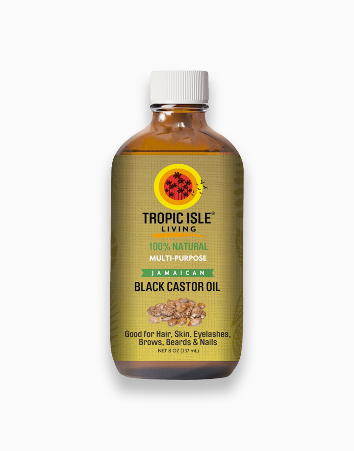 Jamaican Black Castor Oil (8oz / 237ml) by Tropic Isle