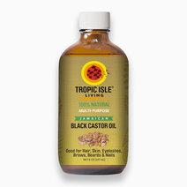 Re tropic isle living jamaican black castor oil  8 oz   237 ml