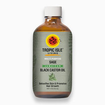 Sage Jamaican Black Castor Oil (4oz/118ml) by Tropic Isle