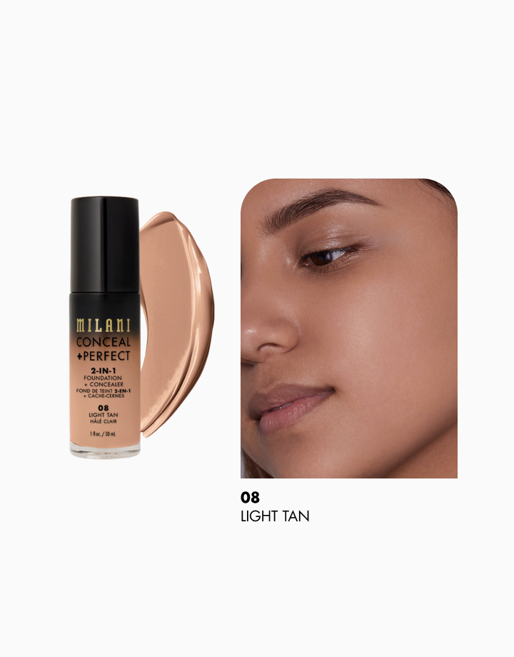 Conceal + Perfect 2-in-1 Foundation + Concealer by Milani | Light Tan