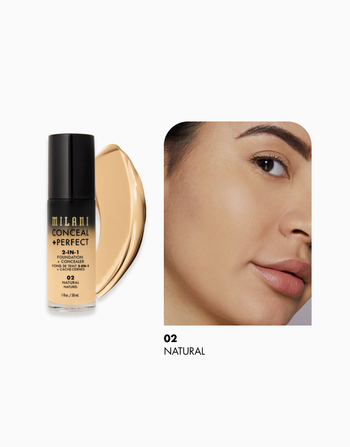 Conceal + Perfect 2-in-1 Foundation + Concealer by Milani | Natural