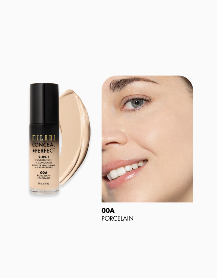 Conceal + Perfect 2-in-1 Foundation + Concealer by Milani | Porcelain