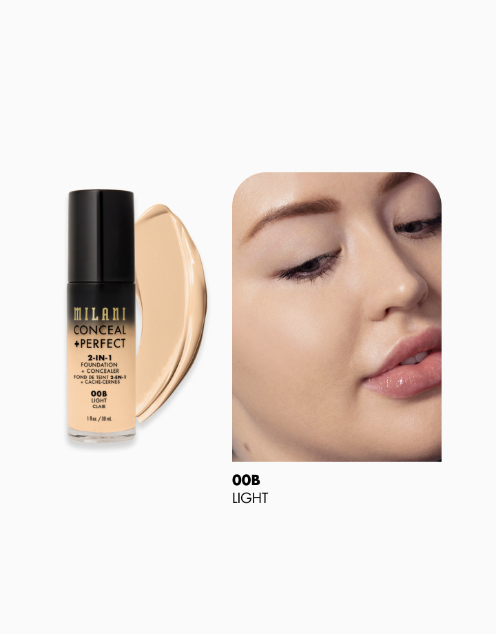 Conceal + Perfect 2-in-1 Foundation + Concealer by Milani | Light