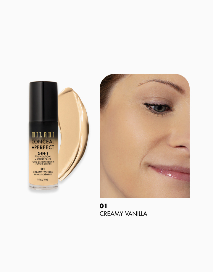 Conceal + Perfect 2-in-1 Foundation + Concealer by Milani | Creamy Vanilla