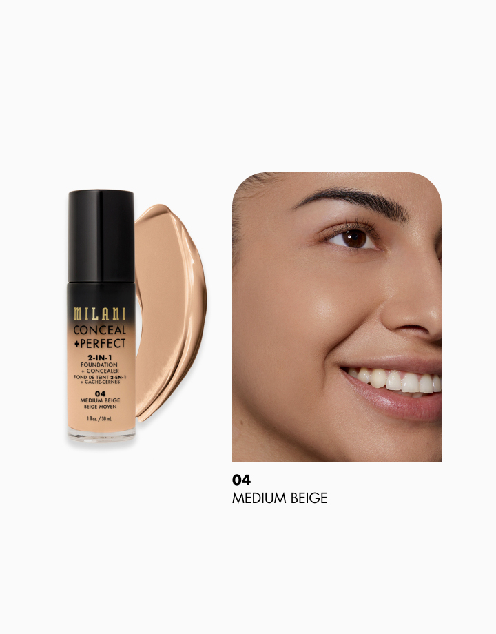 Conceal + Perfect 2-in-1 Foundation + Concealer by Milani | Medium Beige