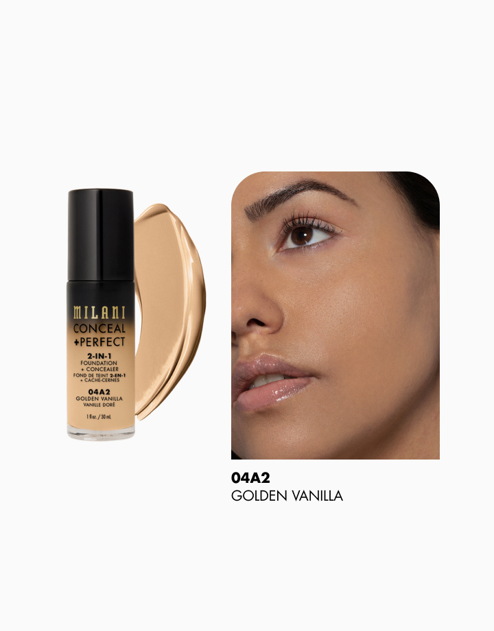 Conceal + Perfect 2-in-1 Foundation + Concealer by Milani | Golden Vanilla