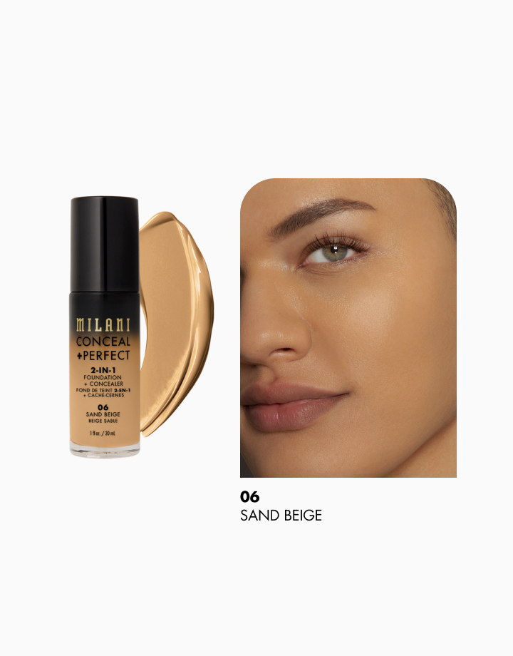 Conceal + Perfect 2-in-1 Foundation + Concealer by Milani | Sand Beige